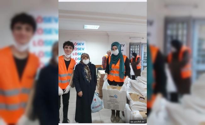 Lösemi hastalarına et gıda kolisi gönderildi