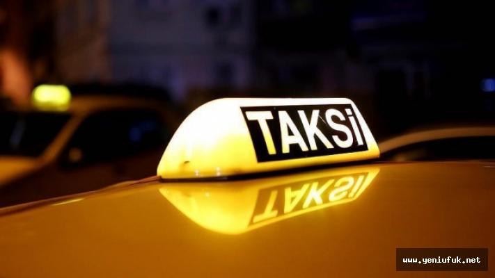 Ticari Taksilere Koronavirüs Önlemi