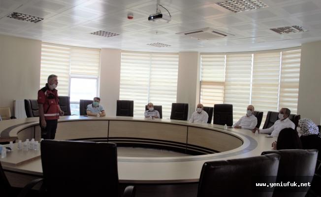 Afet ve Acil Durum Konulu Değerlendirme Toplantısı Düzenlendi