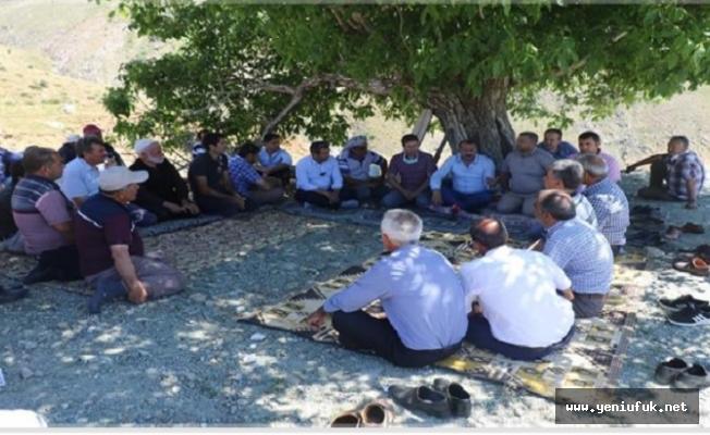 Karahan, Yaylacıların Sorunlarını Dinledi