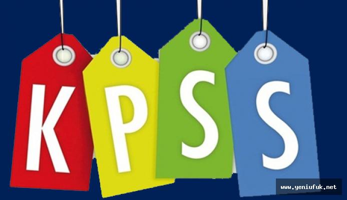 KPSS başvuru ekranı açıldı