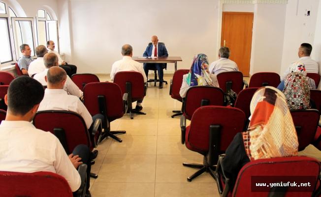 Müftü Aydın, Vaizler ve Din Hizmetleri Uzmanları İle Bir Araya Geldi