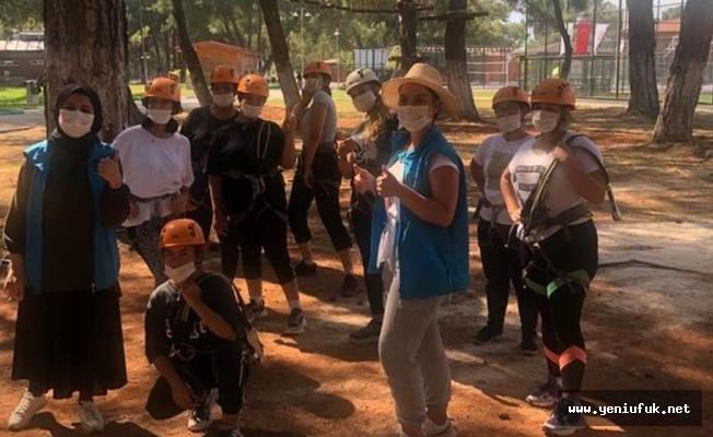 Çocuklar Yaz Kamplarında Buluşuyor