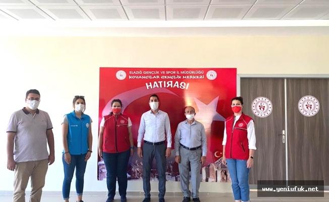 Eren, Şehit Muhammed Ata Kıratlı Gençlik Merkezini Ziyaret Etti