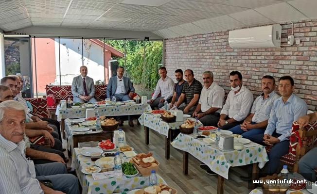Keban'da Geleneksel Ballı Kahvaltı Programı