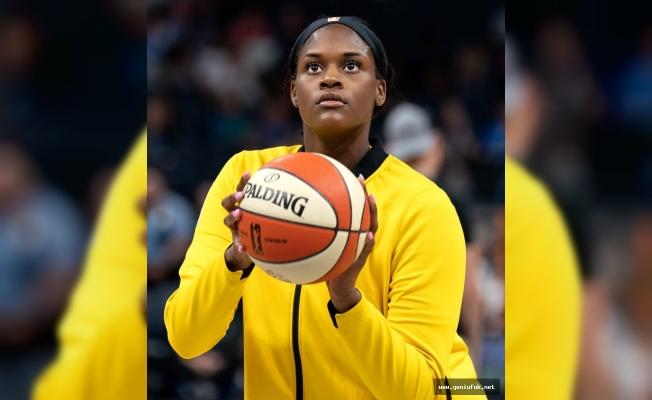 WNBA Yıldızı Kalani Brown Elazığ'da