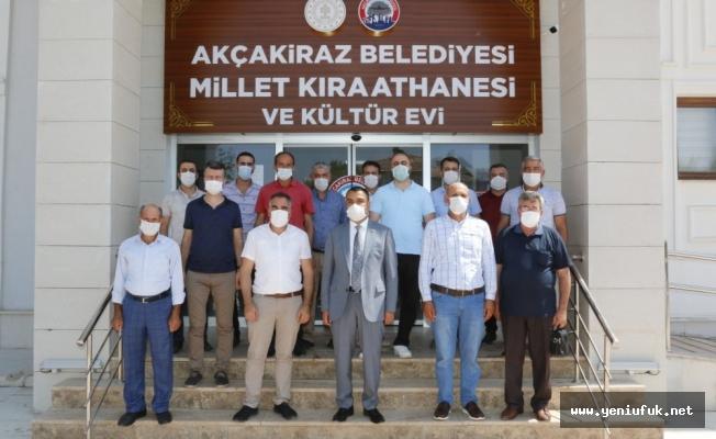 Akçakiraz Belediyesi Yeni Tahsilat Bürosu'nu Hizmete Açtı