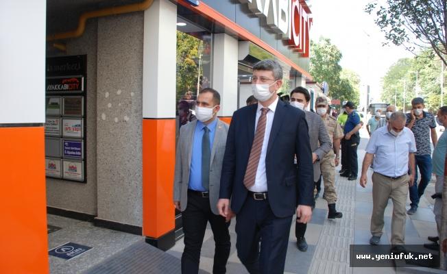 Elazığ'da Koronavirüs Denetimi