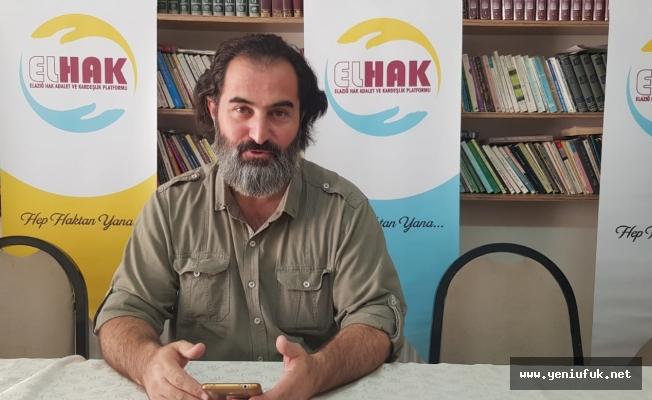ELHAK, Dini İstismar Edenleri Kınadı