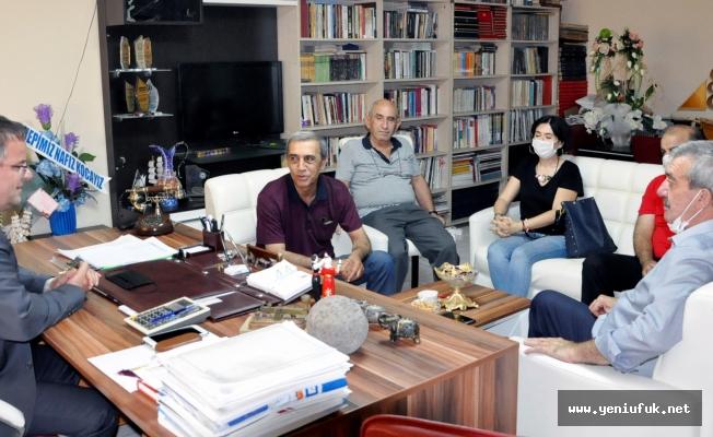 İYİ Parti Yönetiminden Gazetemize Ziyaret