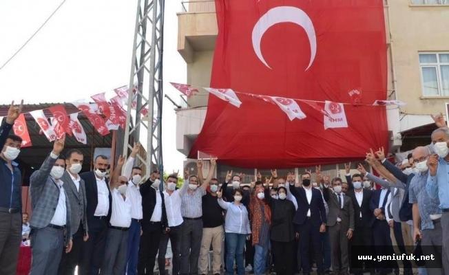 MHP İlçe Kongreleri Yapıldı
