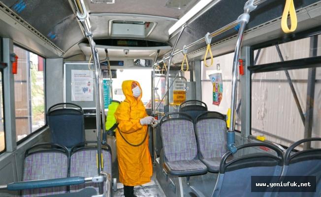 Toplu Taşıma Araçlarında Covid 19 Temizliği