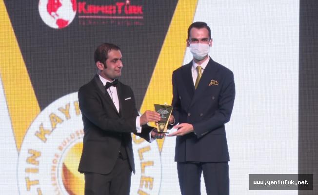 'Yılın Medya Emek Ödülü' Furkan Dilaver'e Verildi