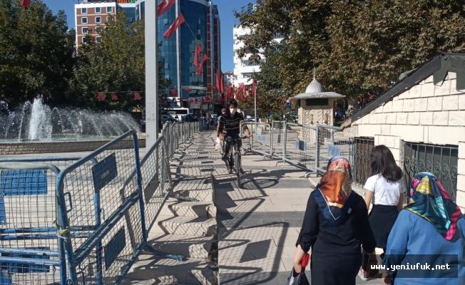 Belediye Çarşısına ve Kapalı Çarşıya Geçiş Koridoru Oluşturuldu