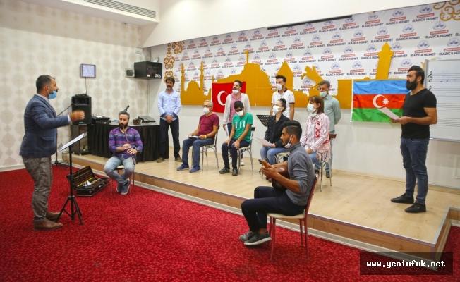 Elazığ Belediyesi'nden Azerbaycan'a Destek Konseri