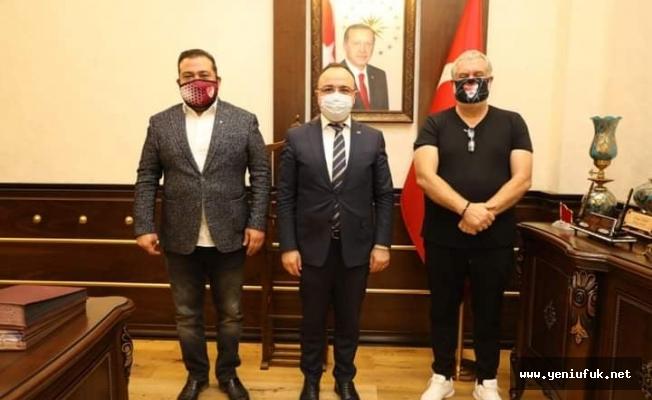 Elazığspor'dan Vali Erkaya Yırık' a Ziyaret