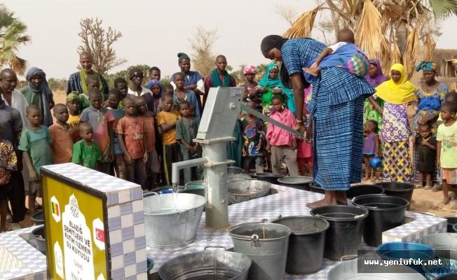 İHH Elazığ İnsani Yardım Derneğinden Mali'ye Su Kuyusu