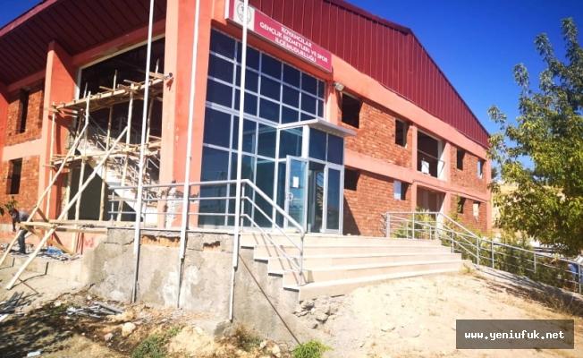 İlçemiz Spor Salonu Yenileniyor