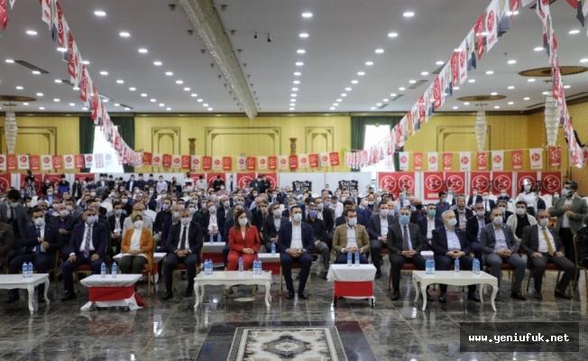 MHP Elazığ Merkez İlçe Kongresi Gerçekleştirildi