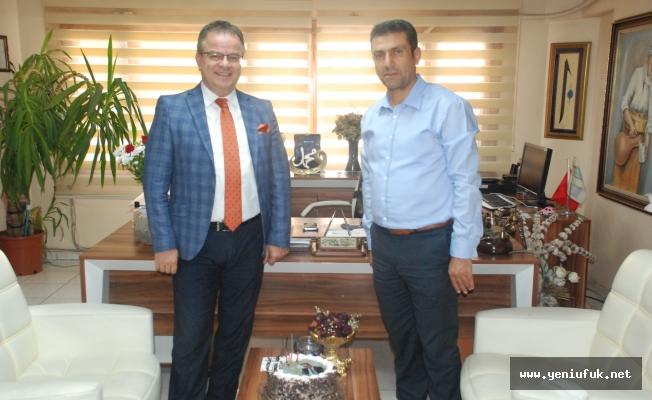 Okul Müdürü İbrahim Bişi'den Gazetemize Anlamlı Ziyaret