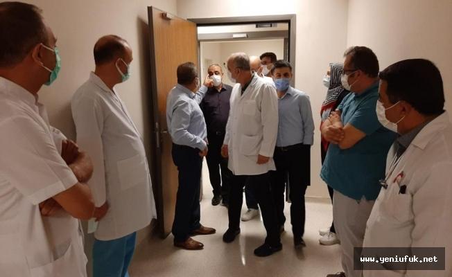 Şehir Hastanesi'nde Kurulan Covid-19 Tanı Laboratuvarı Hizmete Girdi