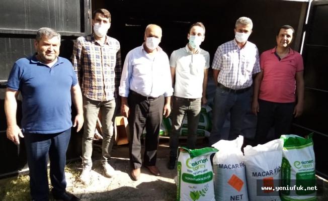 Sivrice'de, Çiftçilere Yem Bitkisi Tohumu Dağıtımı Yapılacak
