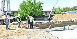 Depremde Yıkılan Okulların Yerine Yenilerinin Yapımına Başlandı