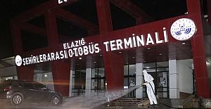 Otobüs Terminali Temizlendi