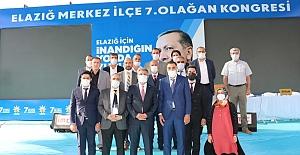 AK Parti Elazığ Merkez İlçe Kongresi Gerçekleştirildi