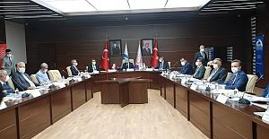 FKA Yönetim kurulu Toplantısı Elazığ'da Yapıldı