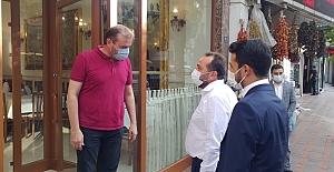Milletvekili Ağar, Genel Merkezin...