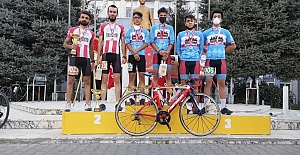 Elazığlı Bisikletçiler Bingölde...