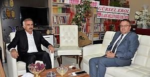 Kızılay Şube Başkanı Kızılkaya'dan Gazetemize Ziyaret