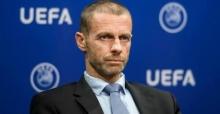 """UEFA BAŞKANI İLK KEZ KONUŞTU; """"BELKİ SEZON İPTAL BİLE OLABİLİR"""""""