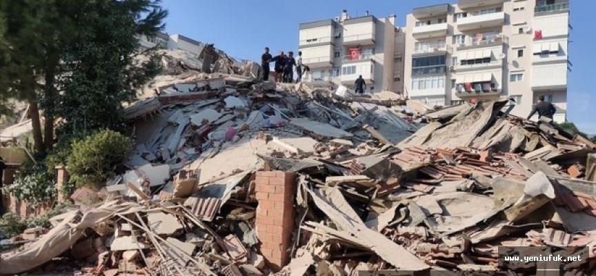 İzmir'de 6,6 Büyüklüğünde Deprem