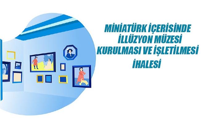 Miniatürk Mini Türkiye Parkı İçerisinde İllüzyon Müzesi Kurulacak