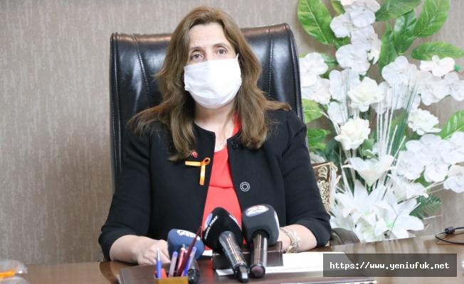 AK Kadınlar Şiddete Karşı Turuncu Çizgi Çekti