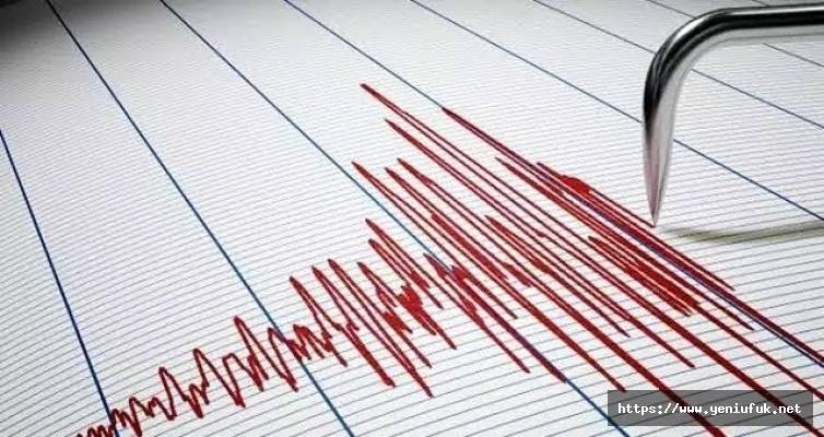 Elazığ 3,7 Büyüklüğünde Deprem