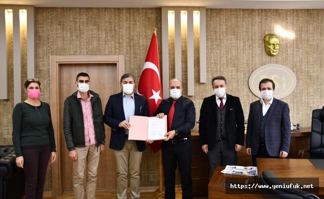 Odabaşı Göleti Sulaması İnşaat İşi Sözleşmesi İmzalandı