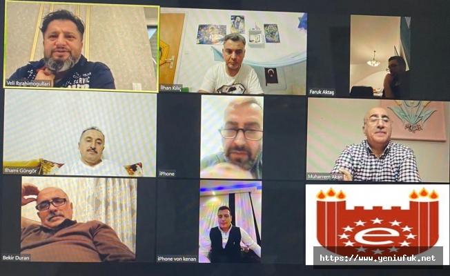 AED Yönetim Kurulu Online Toplantı Yaptı