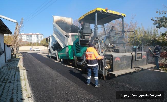 Elazığ Belediyesi Sokak Kısıtlamasını Fırsata Çevirdi