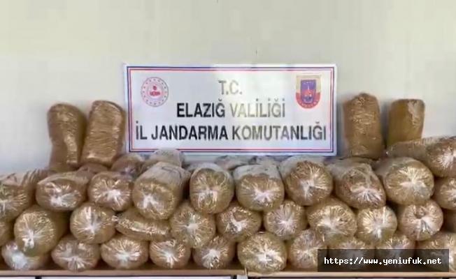 Jandarma'dan Tütün Operasyonu