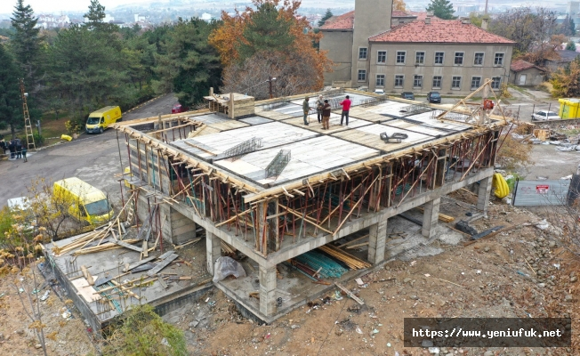Yeni Muhtarlık Ofisi ve Taziye Evi İnşaatı Hızla İlerliyor