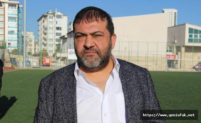 """""""Elazığspor için destek istedik."""""""