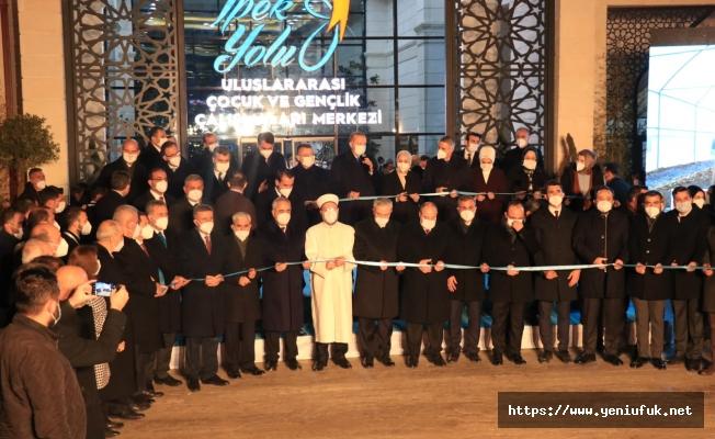 İpekyolu Uluslararası Çocuk ve Gençlik Çalışmaları Merkezi Hizmete Açıldı