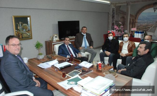 Şehit Gazi Sendikasından Gazetemize Ziyaret