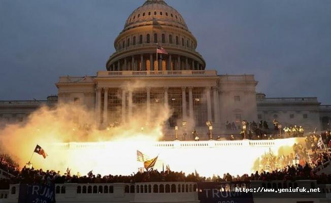 Trump Yanlıları Kongre Binasını Bastı