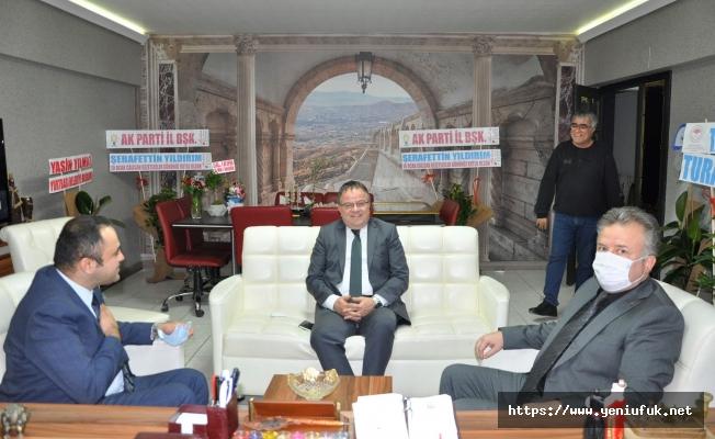 Yılmaz ve Özbay'dan Gazetemize Ziyaret