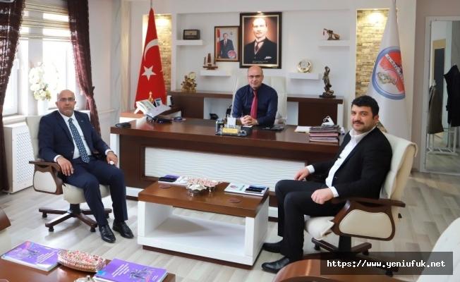 Başkan Ulaş'tan Tunceli'de Önemli Ziyaretler