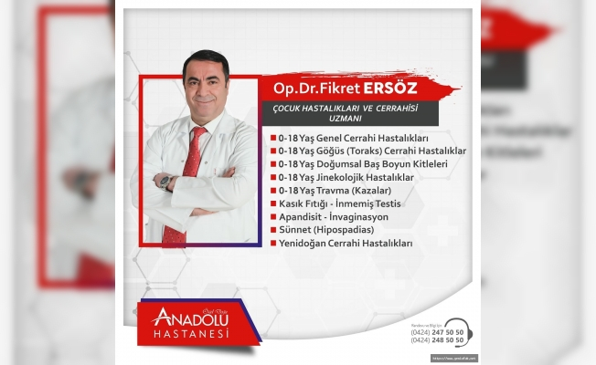 Dr. Fikret Ersöz Anadolu Hastanesinde